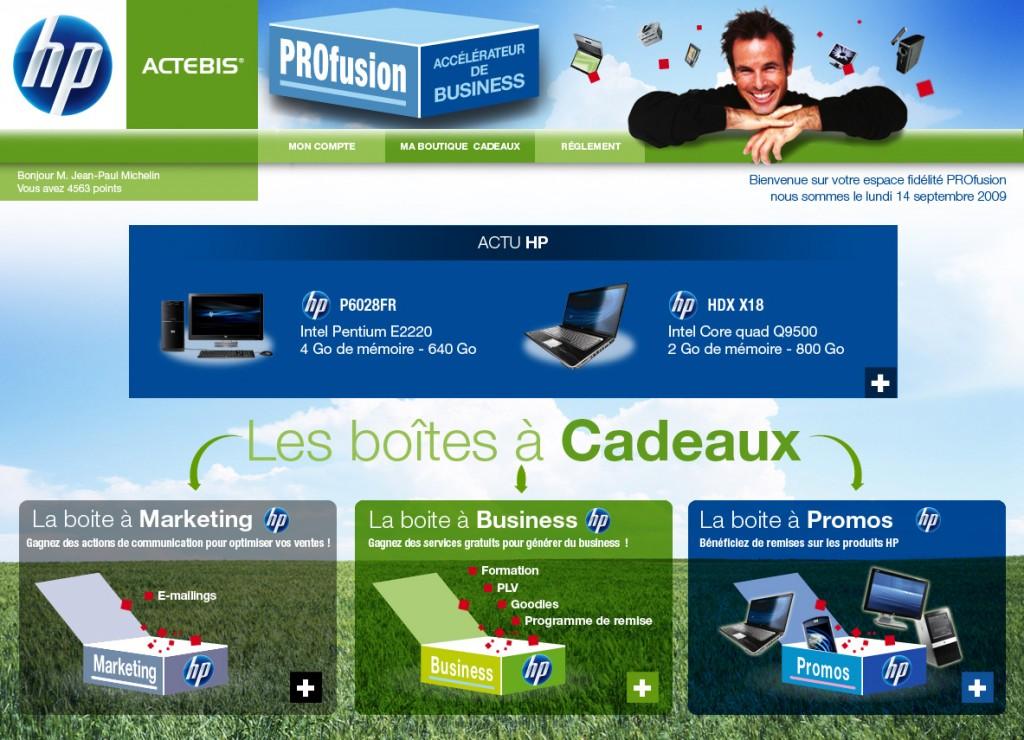 Homepage_connecté